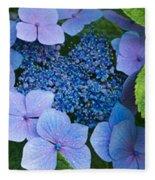 Close-up Of Hydrangea Flowers Fleece Blanket