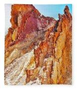 Ochre Pits - West Mcdonald Ranges Fleece Blanket
