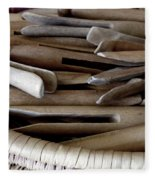 Clothes-pins Fleece Blanket