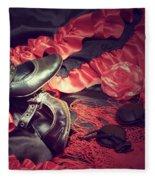 Clothing For Flamenco Fleece Blanket
