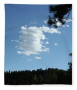 Cloud Busting Fleece Blanket
