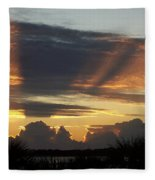 Cloud Cast Glory Fleece Blanket