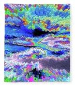 Cloud Energy Fleece Blanket