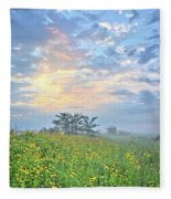 Cloud Filled Morning 2 Fleece Blanket