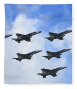 Cloud Formation Fleece Blanket