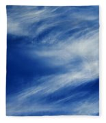 Cloud Formations Fleece Blanket