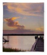 Cloud Forms Fleece Blanket