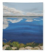 Cloud Lake Fleece Blanket
