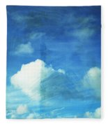 Cloud Painting Fleece Blanket