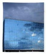 Cloud Reflection Fleece Blanket