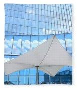 Cloud Reflections - Revel Hotel Fleece Blanket