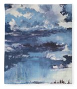 Cloud Study Fleece Blanket