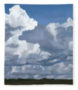 Cloud Study Fleece Blanket