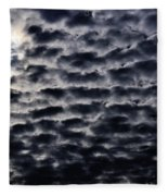 Cloud Tiles Fleece Blanket