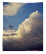 Clouds-3 Fleece Blanket