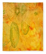Clouds And Crystals Abstract #2 Fleece Blanket