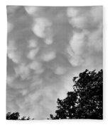Clouds Before The Storm Fleece Blanket