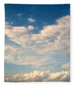 Clouds Clouds Clouds Fleece Blanket