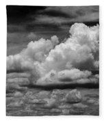 Clouds I I Fleece Blanket