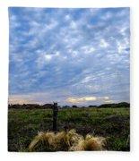 Clouds Illusions Fleece Blanket