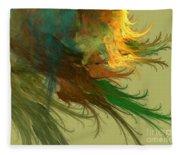 Clouds Of Color Fleece Blanket