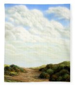Clouds Of Spring Fleece Blanket
