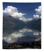 Clouds On The Water Fleece Blanket