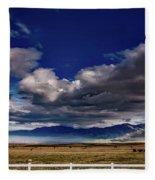 Clouds Over California Fleece Blanket