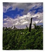 Clouds Over Gettysburg Fleece Blanket