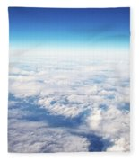 Clouds Over Ireland Fleece Blanket
