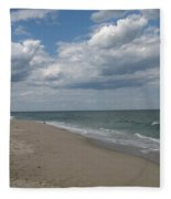 Clouds Over The Sea Fleece Blanket