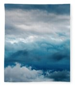 Clouds Two Fleece Blanket