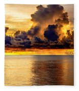 Clouds Within The Clouds Fleece Blanket