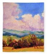 Cloudscape 2 Fleece Blanket