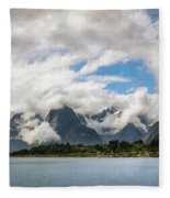 Cloudy With A Chance Of Beautiful Photo Fleece Blanket
