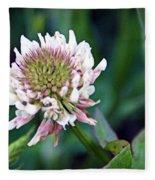 Clover Blossom Fleece Blanket