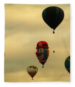 Clown Balloon Fleece Blanket