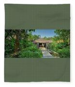 Club Mahindra Madikeri Resort In Coorg Fleece Blanket