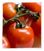 Cluster Of Tomatoes Fleece Blanket