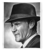 Coach Tom Landry Fleece Blanket