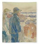 Coast Fishermen Fleece Blanket