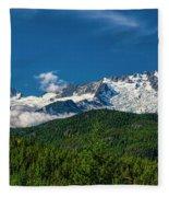 Coast Mountains Fleece Blanket