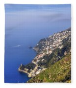 Coast Of Amalfi Fleece Blanket