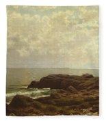 Coast Off Grand Manan Fleece Blanket