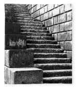 Coast - Sea Stairs Fleece Blanket