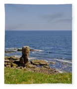 Coast. Seascape 3. Fleece Blanket