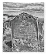 Coast - Whitby Freemason Grave Fleece Blanket
