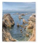 Coastal California Fleece Blanket