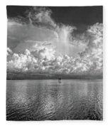 Coastal Clouds 2 Fleece Blanket