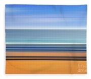 Coastal Horizon 1 Fleece Blanket
